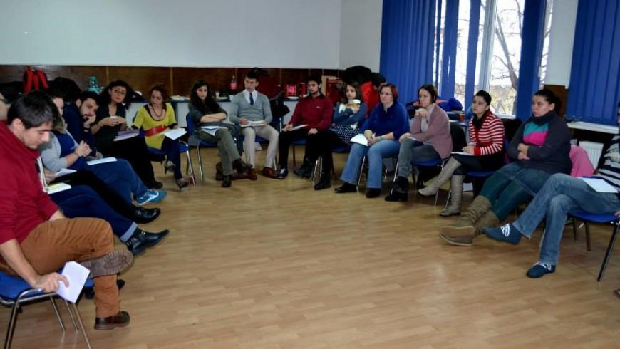 Raport de activitate la Centrul de Tineret Baia Mare în luna Decembrie 2013