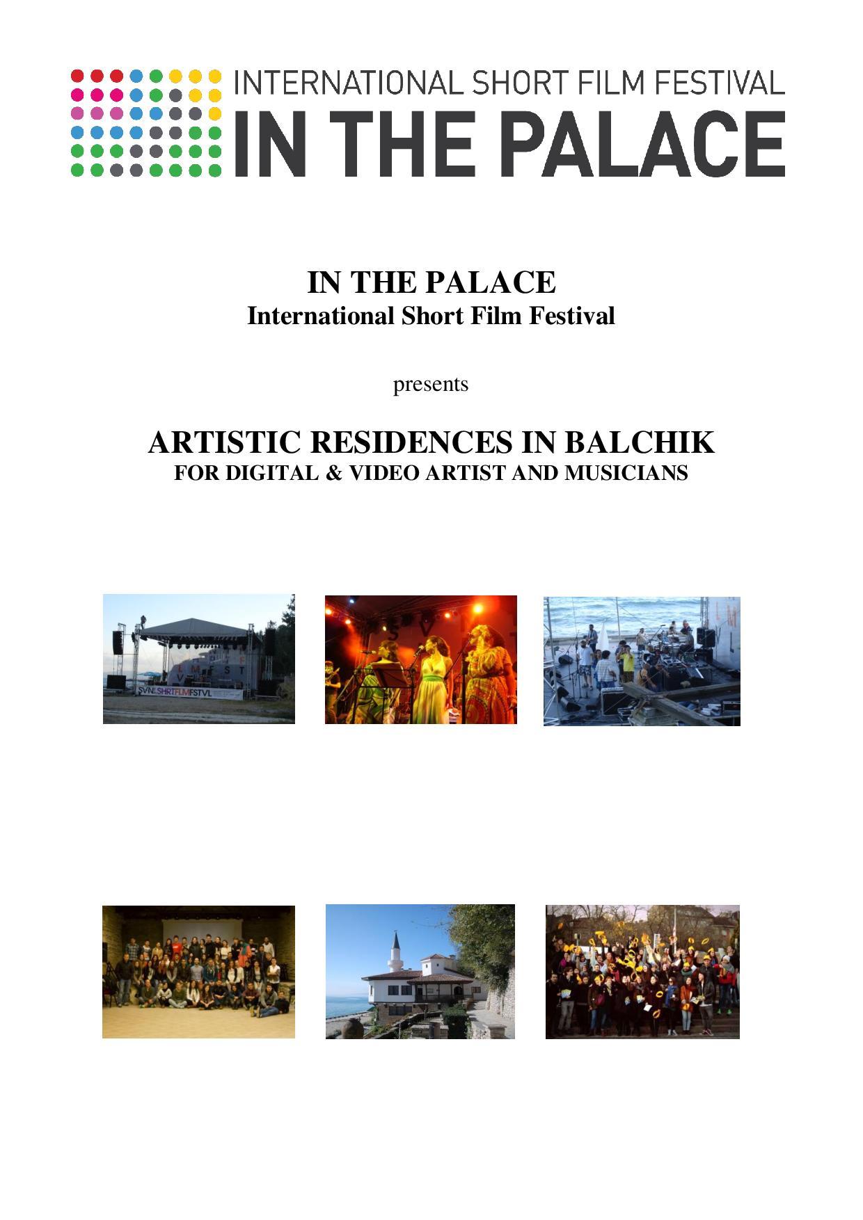 Oportunitate pentru tinerii artiști din domeniul fotografie, film si muzică